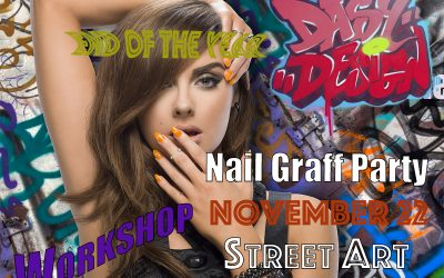 Graffiti Nail Party